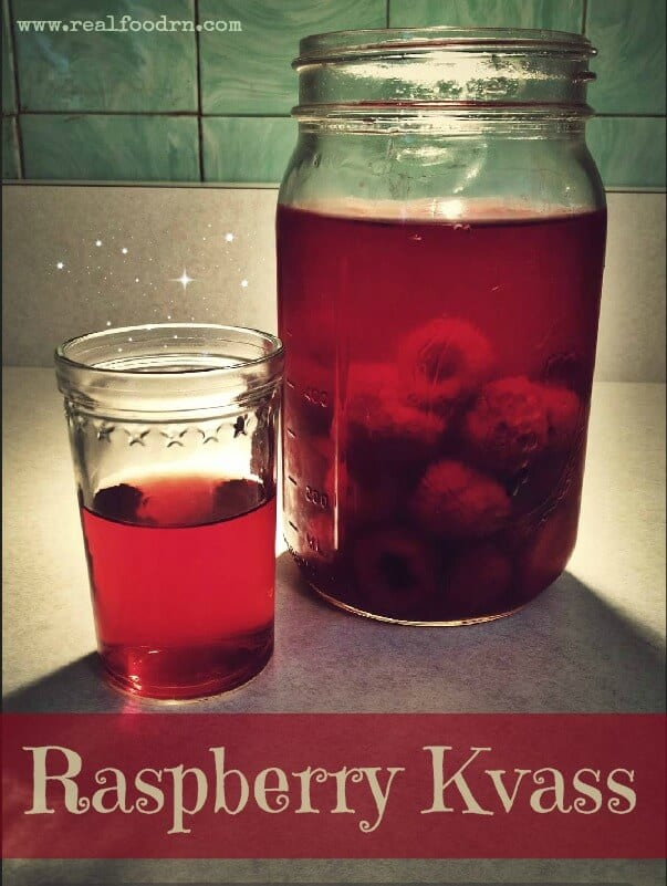 raspberry kvass How to make Raspberry Kvass