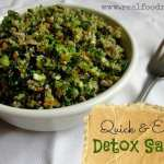 Quick Easy Detox Salad 150x150 Personal Pan Cauliflower Crust Pizzas
