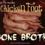 Chicken Feet Bone Broth 150x150 The health benefits of Bone Broth