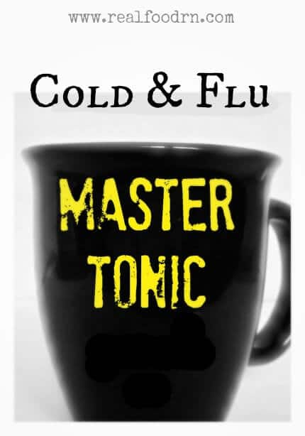 master tonic Cold and Flu Master Tonic