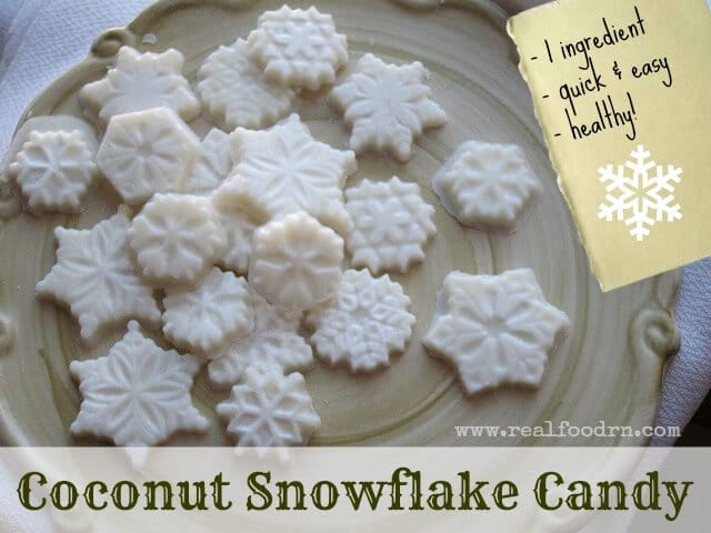 coconut snowflake candy