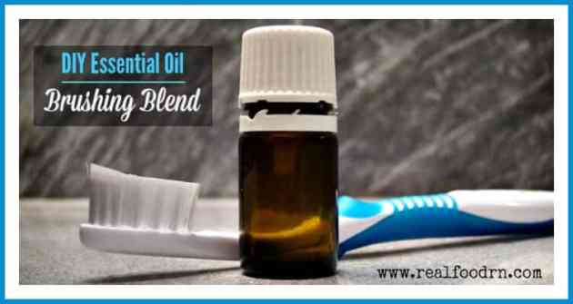 DIY Essential Oil Brushing Blend | Real Food RN