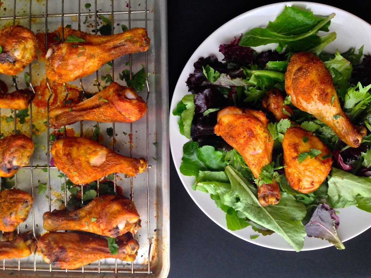 Turmeric & Spice Chicken Drumsticks
