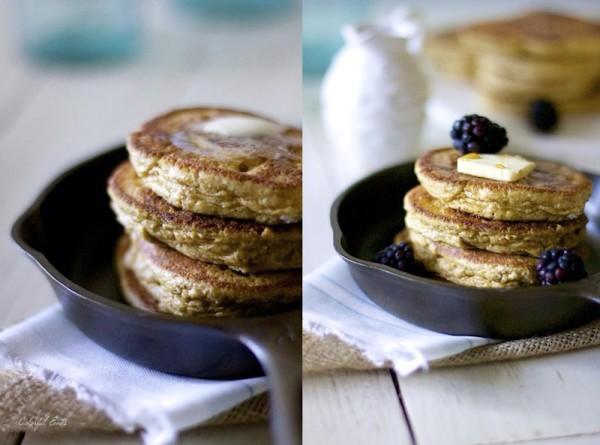Soufflé Spice Pancakes - Colorful Eats