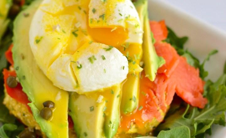 Smoked Salmon Breakfast Stacks | Real Food with Dana