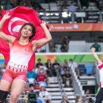 Marwa Amri termine en bronze