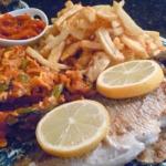 Le poisson en fête à La Goulette