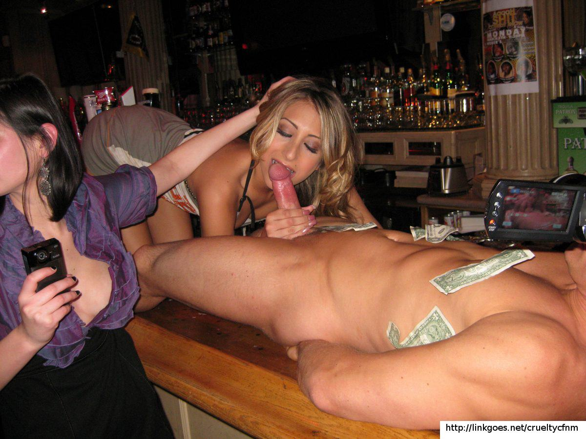wife basement bar
