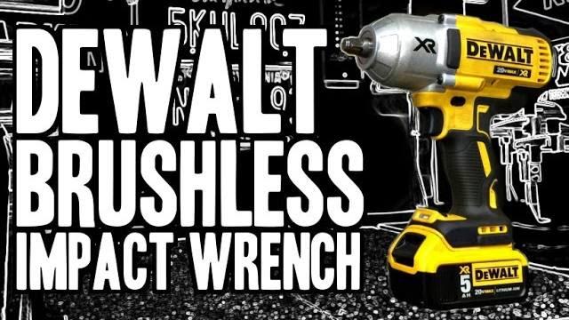 dewalt dcf899 20v max xr brushless high torque 1 2 impact. Black Bedroom Furniture Sets. Home Design Ideas
