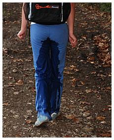 peed pants accident