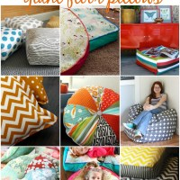 How To Make Your Own Floor Pillows