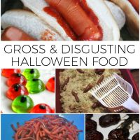 Gross Halloween Food
