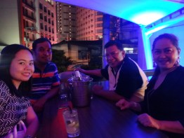 REBAP Makati CRESR Comprehensive Real Estate Seminar & Review CRESR participants who passed the PRC Real Estate Brokers Licensure Exam REBLEX last February 28, 2016 had a Meet Ups Victory Party at The Alchemy Bistro Bar Makati last March 12, 2016.