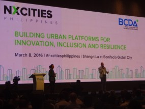 REBAP Makati was invited at The Philippines' first international forum on urbanization and city building in the 21st century last March 8, 2016 at the Shangri-la Hotel in Bonifacio Global City, Taguig, Philippines. NXCITIES Philippines is a full-day event hosted by the Bases Conversion and Development Authority (BCDA) to anchor the launch of Clark Green City, a 9,450-hectare planned urban development north of Manila.