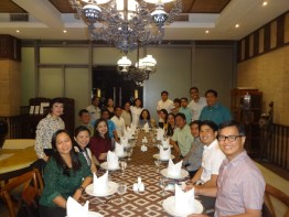 REBAP Makati New Members OathTaking during Business Meeting at City Club Alphaland Makati Place last March 29, 2016.