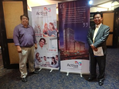 An exclusive preview of Filinvest latest cityscape - Activa Cubao was held last September 15, 2016 at Gloria Maris Banquet Hall Gateway Cubao.