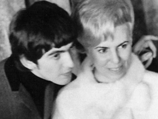 George Harrison and his sister Louise, 1964