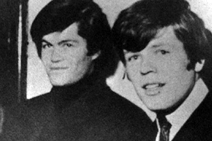 Micky Dolenz (left) and Peter Noone at the height of their fame.