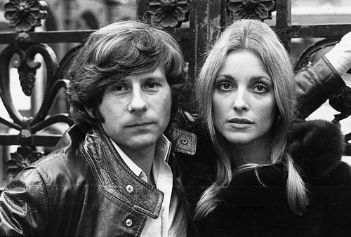 Roman Polanski and Sharon Tate, 1968. (Photo by Andre Perlstein)