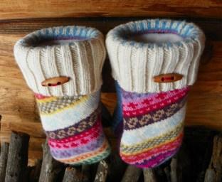 Madawaska wool mittens