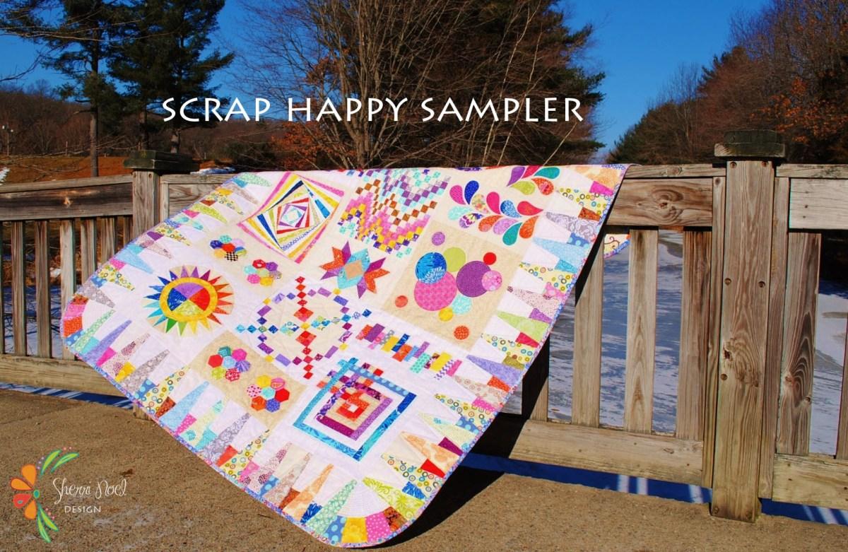Block of the Month ~ Scrap Happy Sampler