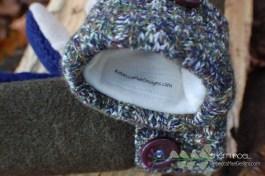fleece lined mittens