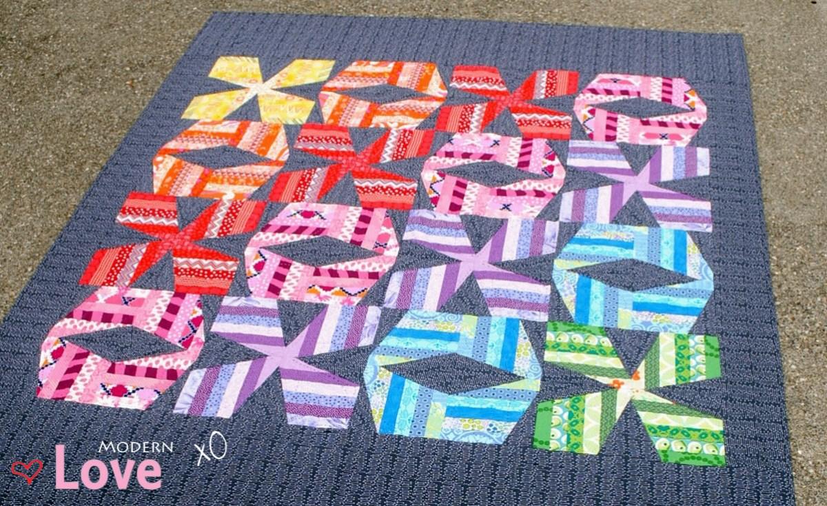 Modern Love XO Quilt Pattern