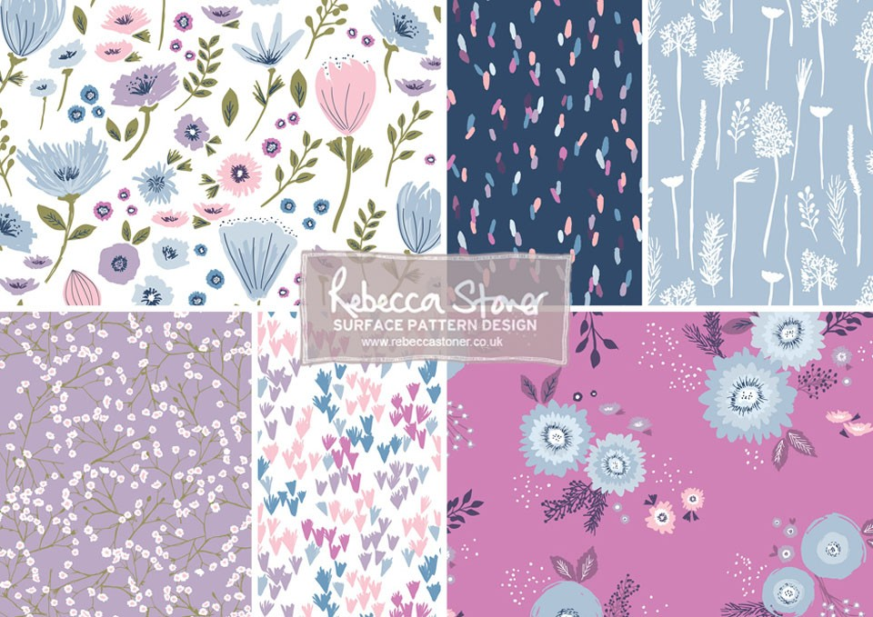 Garden Floral Collection by Rebecca Stoner
