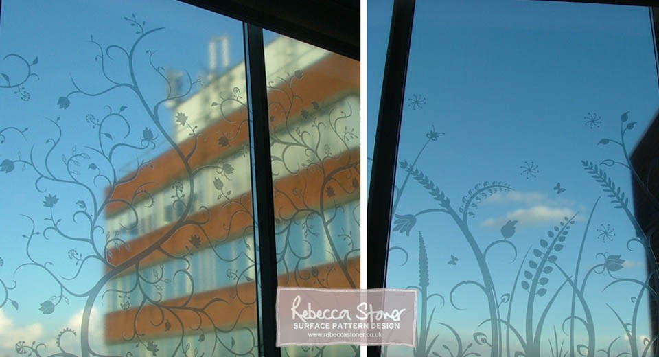 Oncology Window Designs  by Rebecca Stoner