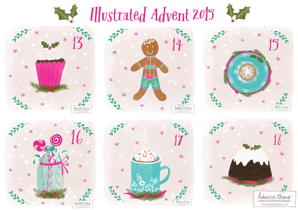 Illustrated Advent_3 by Rebecca Stoner