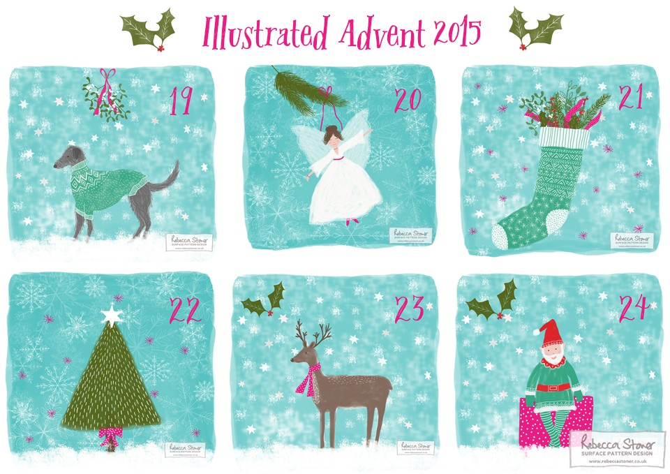 Illustrated Advent_4 by Rebecca Stoner