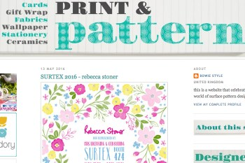 Surtex - Print and Pattern Feature_Rebecca Stoner