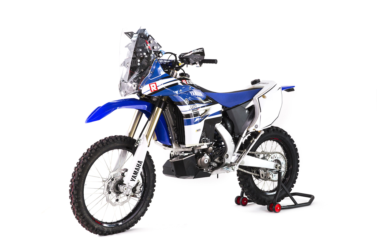 yamaha wr450f rally kit