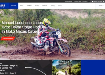 Yamaha WR450F 2016 Dakar Manuel Lucchese