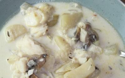 Fish Chowder with Cod
