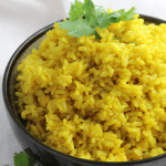 Instant Pot Ginger Turmeric Soaked Rice