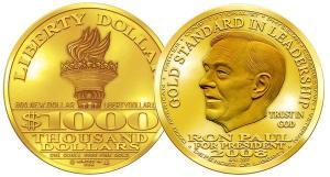 The Ron Paul $1000, weapon of mass destruction.