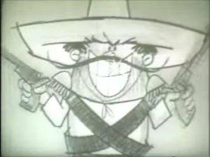 The Frito Bandito, ambassador of Frito Lays corn chips.