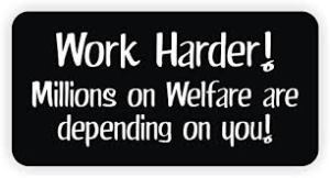 Not all unionists harbor fondness for welfare or socialism.