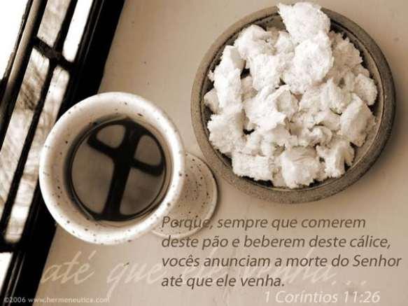 Recado Facebook Santa Ceia