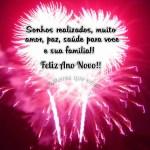 Recado Facebook Amiga, feliz ano novo!
