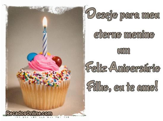 Recado Facebook Feliz aniversário meu filho querido!