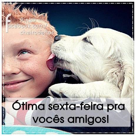 Recado Facebook Amigos, boa sexta!