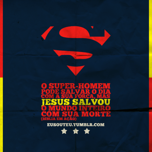 Recado Facebook Jesus Salvou