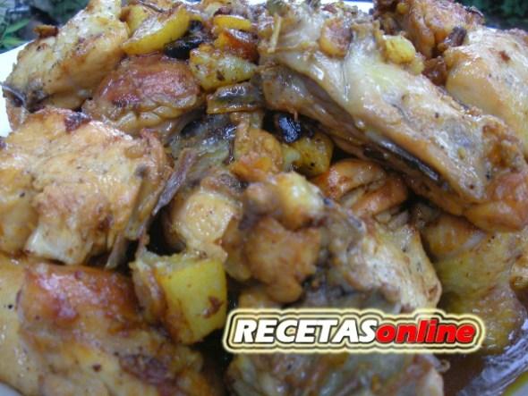 Conejo al ajillo - Recetas de cocina RECETASonline