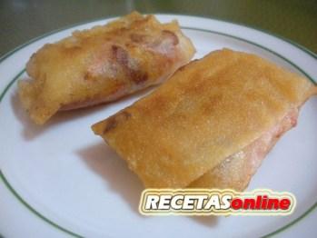 Rollitos de queso y dátiles - Recetas de cocina RECETASonline
