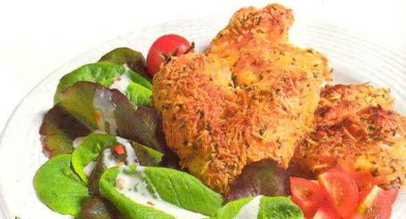 Alitas de pollo a la parmesana - Recetas de cocina RECETASonline