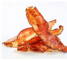 bacon crujiente en el microondas