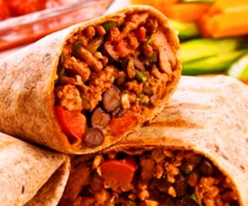 Pork-and-Bean-Burritos