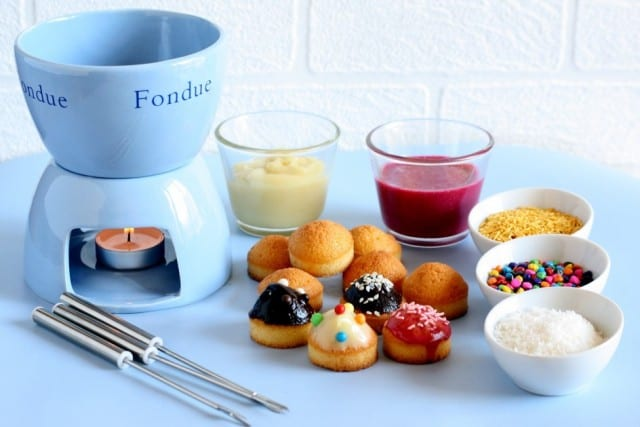 fondue cupcakes